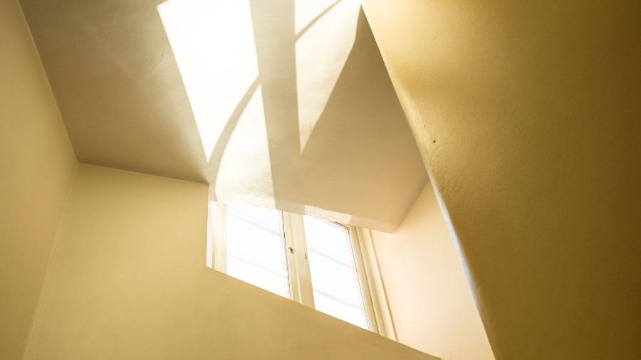 interiör trapphus
